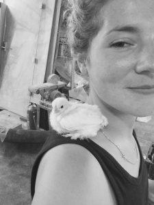 Steffi met kippie